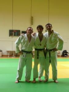 Sébastien, Nicolas et Florent